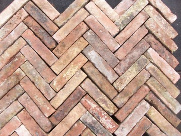 Hand Made Herringbone Bricks - Paving - Reclaimed & Reproduction Building Materials | Source4You
