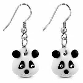 Pandabeer ;oorbellen kinderPandabeer ;oorbellen, kinderoorbellen met schattige pandabeer. De kinderoorbellen zijn gemaakt van nikkelvrij metaal.Afmeting is ;3 bij 1,5 cmAFMETING VAN DE SIERADEN:Bij alle sieraden staat een afmeting, meestal in centimeters, soms in milimeters.