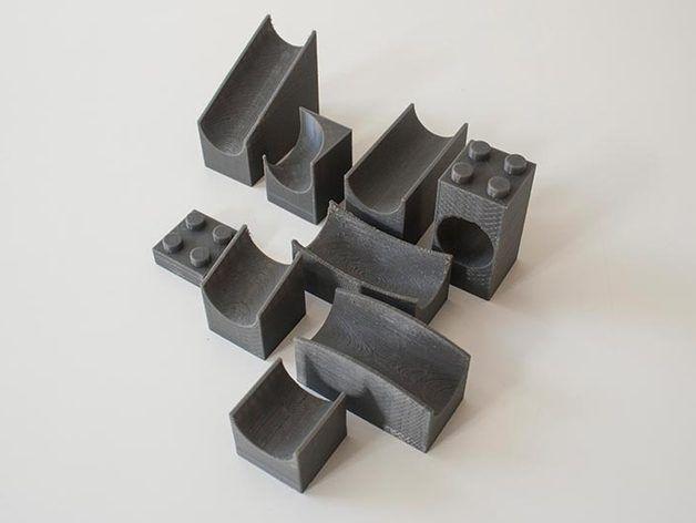 Lego Duplo marble run set by thecrash74 - Thingiverse