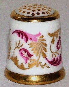 ROYAL CROWN DERBY-PURPLE SCROLL