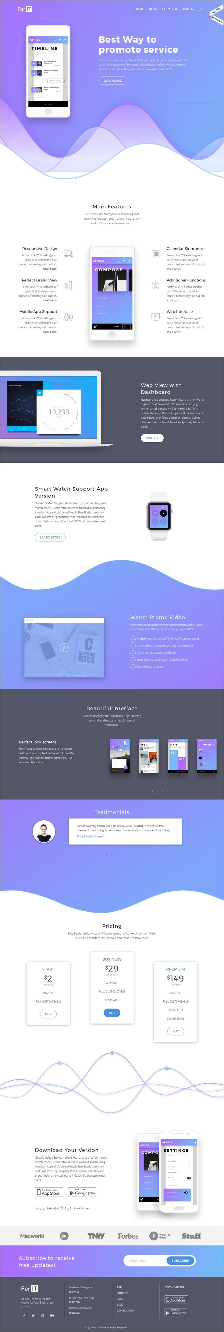 ForIT is an awesome premium #WordPress Theme, designed specially for #IT #startup business, Mobile #App, Software, Saas Service or Product development companies websites download now➩ https://themeforest.net/item/forit-startup-wordpress-theme-for-software-app-and-product/19183016?ref=Datasata