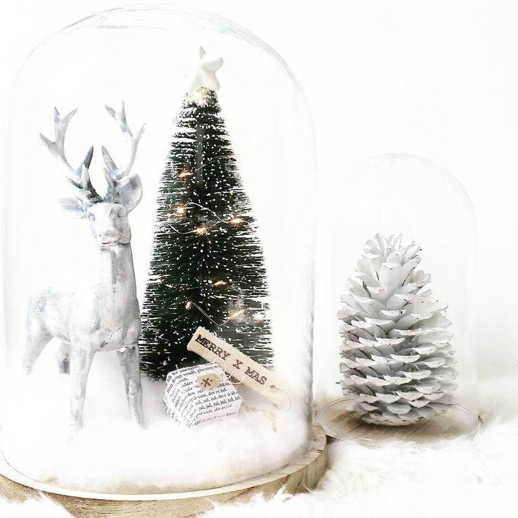 #kwantuminhuis Kerstboom onder stolp @joycestories