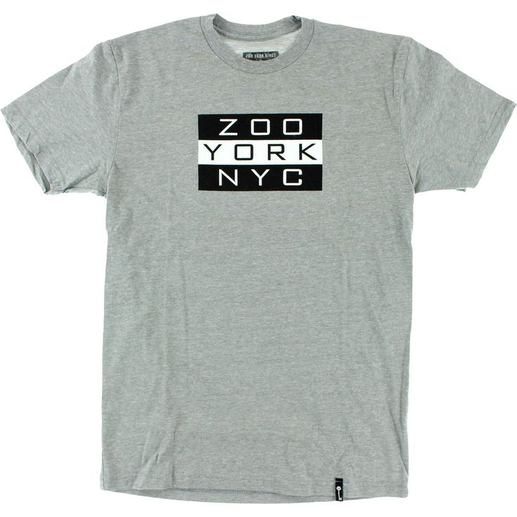 Zoo York Skateboard Kings Heather Grey T-Shirt #skateboardingshirt