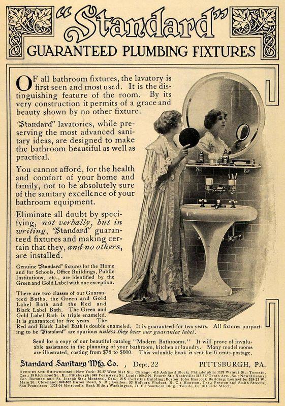 Bathroom Fixtures Pittsburgh 459 best vintage plumbing - kitchen & bathrooms images on
