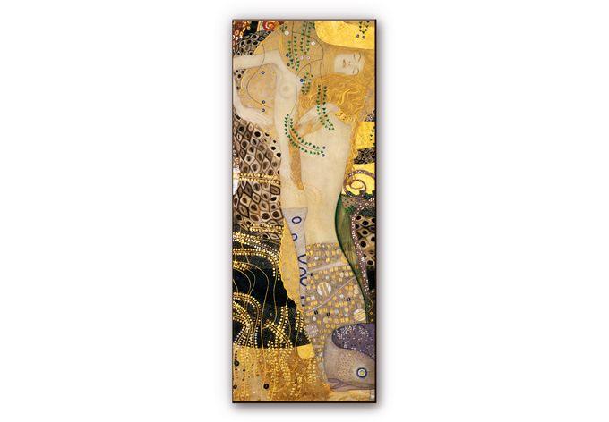 Wanddecoratie HDF Gustav Klimt - Waterslang - wall-art.nl