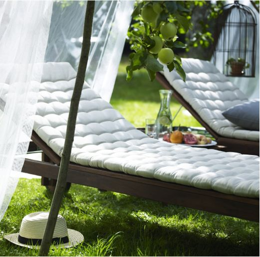 IKEA sun lounger with sun lounger cushions : chaise patio cushions - Sectionals, Sofas & Couches