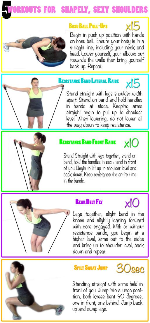 5 Amazing workouts for your shoulders!   http://www.flaviliciousfitness.com/blog/2013/02/27/best-shoulder-exercises-for-women/