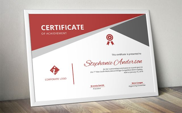 Docx Templates: Free corporate certificate templates for MS Word (...