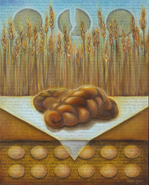 "visual blessings: ""I AM"" the Bread of Life"