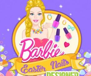 Barbie Easter Nails Designer, http://www.mybabybarbiegames.com/game/barbie-easter-nails-designer. Barbie loves the great holiday of spring, which is Easter. She is getting ready to celebrate with her family and friends.