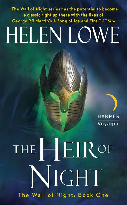 Books by Proxy | The Friday Face-Off  - The Heir of Night by Helen Lowe - Harper Voyager Cover