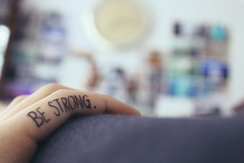 be strong tattoo! Been looking for something like this for forever. I want this. This I it.