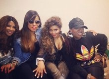 Ladies Night! Female Rappers Unite At Lil Kim's Show! (PHOTOS)