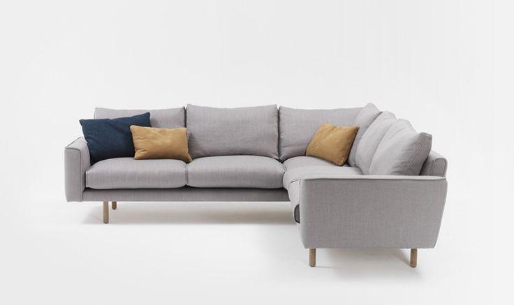 Furniture - Jardan Errol modular sofa...very cute, like the raised legs