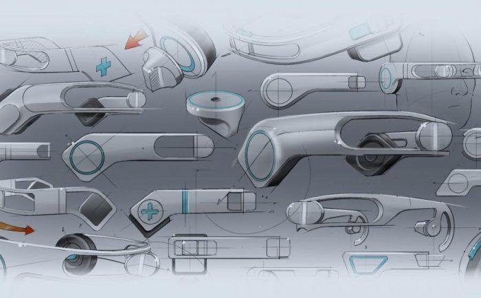 Jonathan Stewart – sketch – The Portal Telemedicine Headset