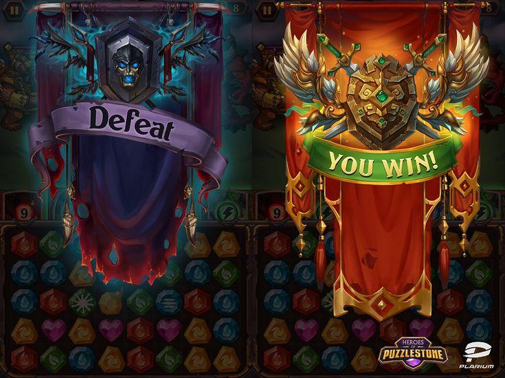 Heroes of Puzzlestone on Behance