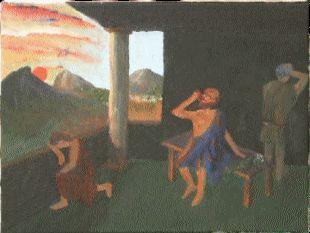 25 beste idee n over zonsondergang schilderijen op pinterest boom canvas schilderijen - Associatie van kleur e geen schilderij ...