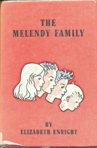 The Melendy Family series includes The Saturdays, Four-Story Mistake, Then There Were Five, and Spiderweb for Two. by Elizabeth Enright.