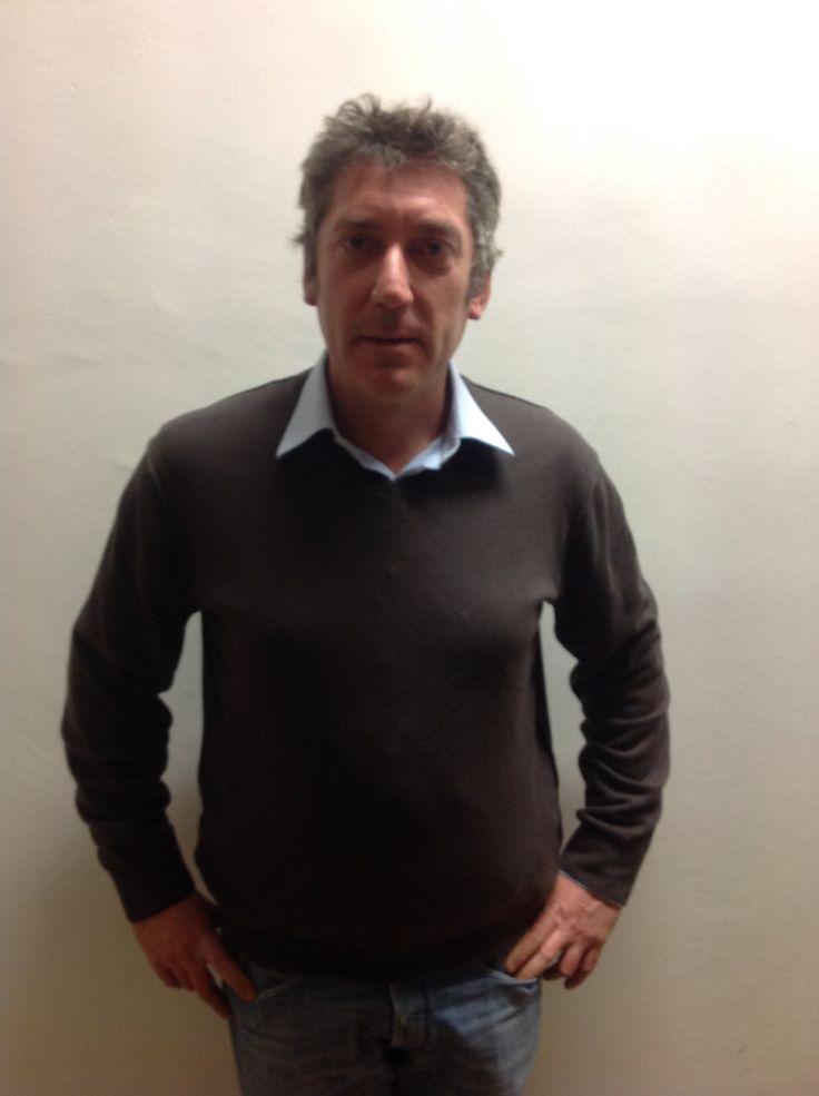 Luciano Zoppo Ronzero, viticultore a Donnas con il grande Pianta Grossa