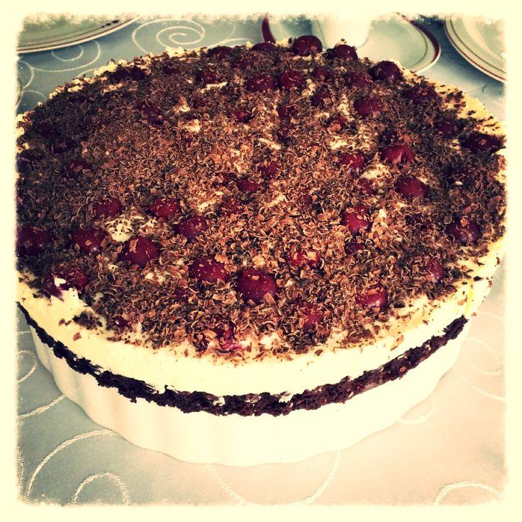 Brownie Schwarzwälder Kirsch Torte