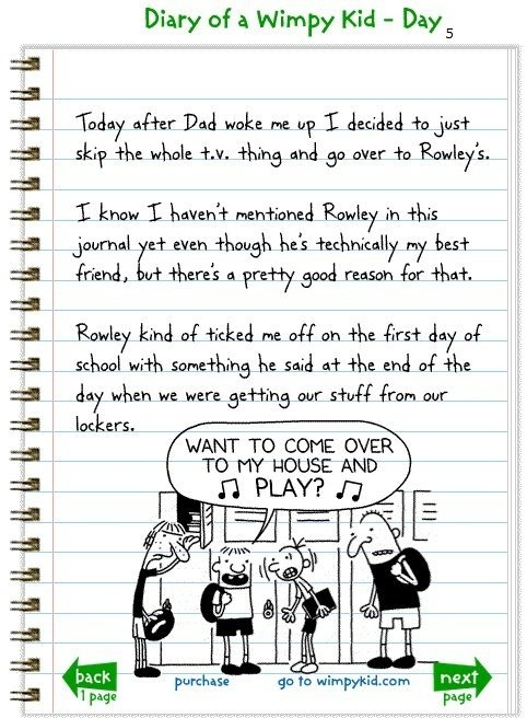 diary of wimpy kid evaluative essay essay Diary of a wimpy kid summary including the diary of a wimpy kid book series he is also attributed to be the creator of poptropica the main character in diary of a wimpy kid: rodrick rules.