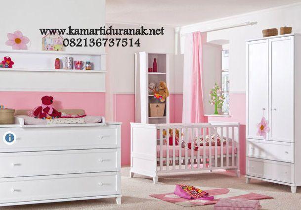 Interior Kamar Bayi Warna Putih Minimalis