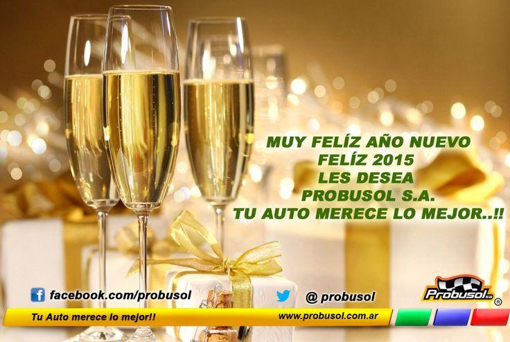 Muy feliz año nuevo les deseamos todos los que formamos parte de Probusol s.a. Feliz 2015!! Que este nuevo año venga lleno de hermosos momentos Felicidades..!!