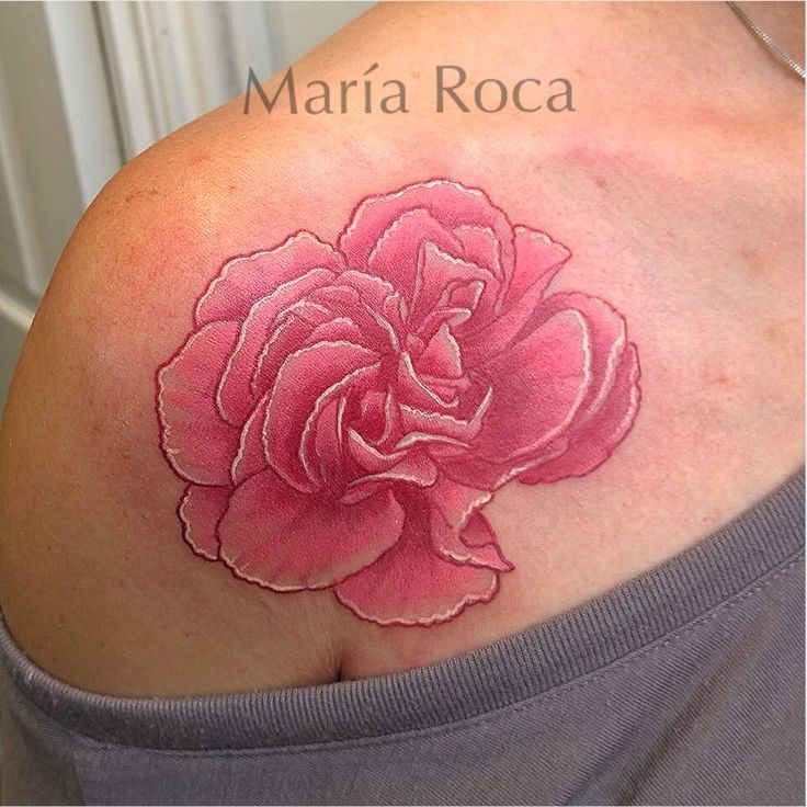 99 best images about pink white ink tattoos on pinterest for Hard ink tattoo