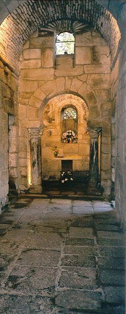 Ourense Igrexa suevo-visigoda de Santa Comba (Bande) - prov. Ourense