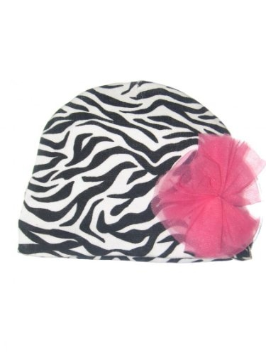 Animal Print Baby Hat Tulle Pouf by Baby Starters Clothing Impulse