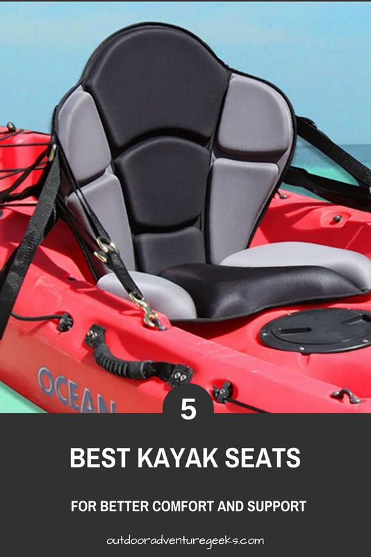 Read reviews and guide of the 5 best kayak seats.