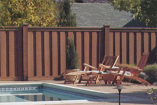 Deck Fencing Ideas Cheap Fencing Ideas Composite Wood