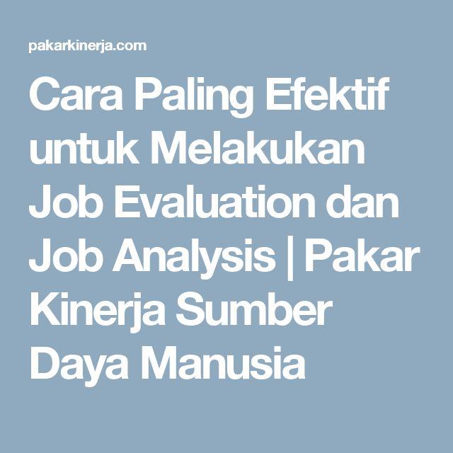 Ponad 25 najlepszych pomysłów na Pintereście na temat Job analysis - job evaluation report