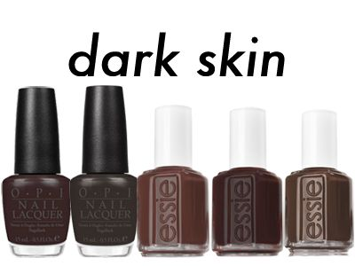 Nudes are in! Which Nude Nail Polish Are You? For Dark Skin