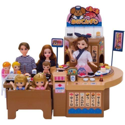 NEW Takara Tomy Licca Doll Conveyor Belt Sushi Restaurant EMS Shipping Japan | eBay