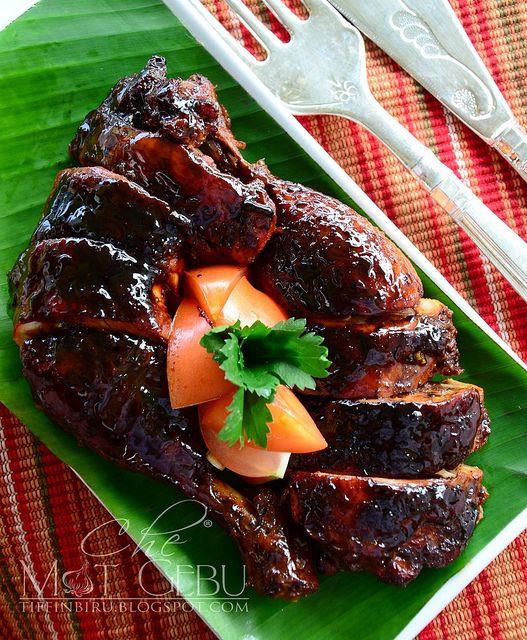 ayam panggang madu by mat gebu, via Flickr. #Indonesia.