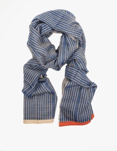 Cashmere Silk Scarf - Indigo confetti by VIDA VIDA g5WVjLg