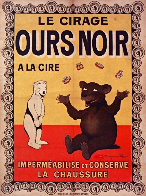 Cirage ours noir