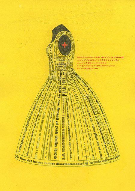 TRACCIAMENTI7Yellow Dresses, Paper Dresses, Sewing Pattern, Mellow Yellow, Art, Graphics, Lady Alphabet, Digital Prints, Fashion Editorial