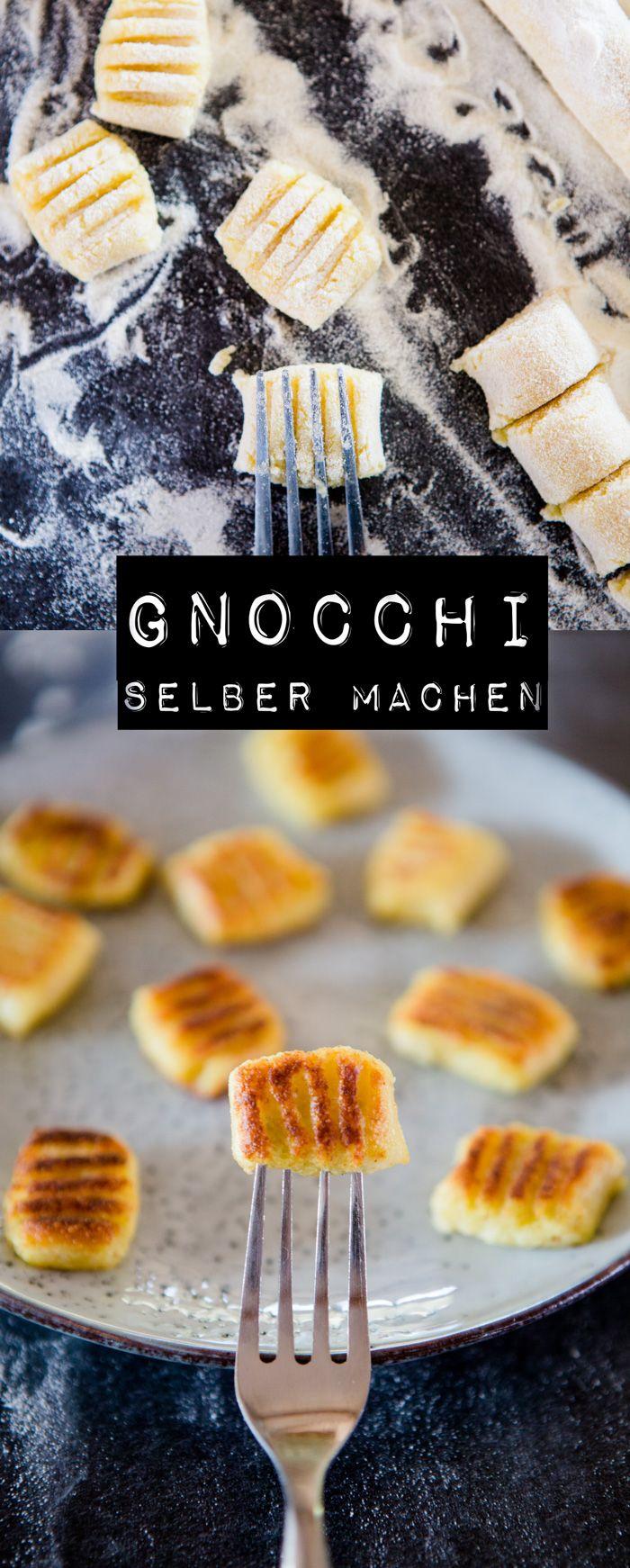 Gnocchi selber machen - www.kuechenchaotin.de