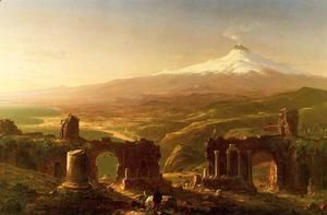 Mount Etna from Taormina  Thomas Cole