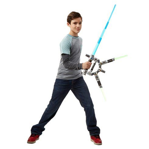 Superb Star Wars Bladebuilders Jedi Master Lightsaber Now At Smyths Toys UK! Buy Online Or Collect At Your Local Smyths Store! We Stock A Great Range Of Star Wars At Great Prices.