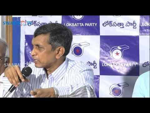Jayaprakash Narayan National President Loksatta Party