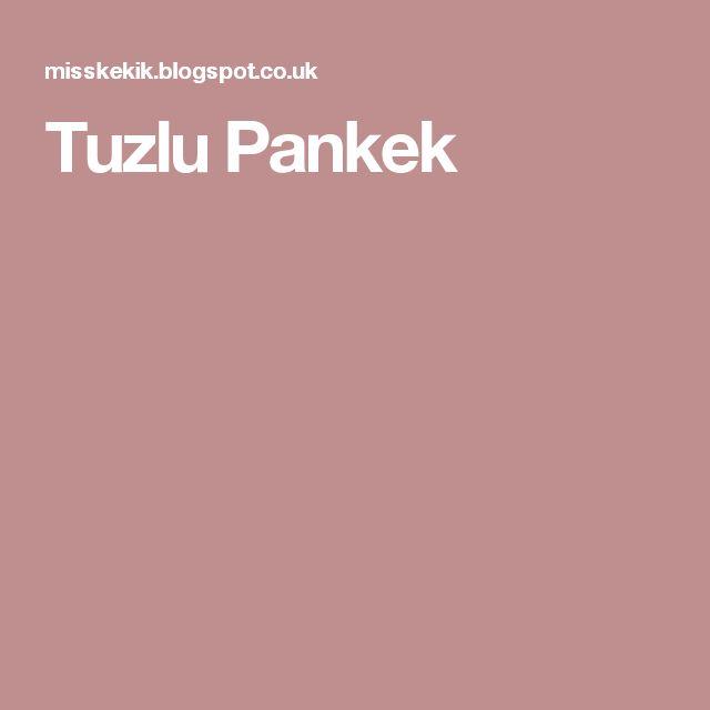 Tuzlu Pankek
