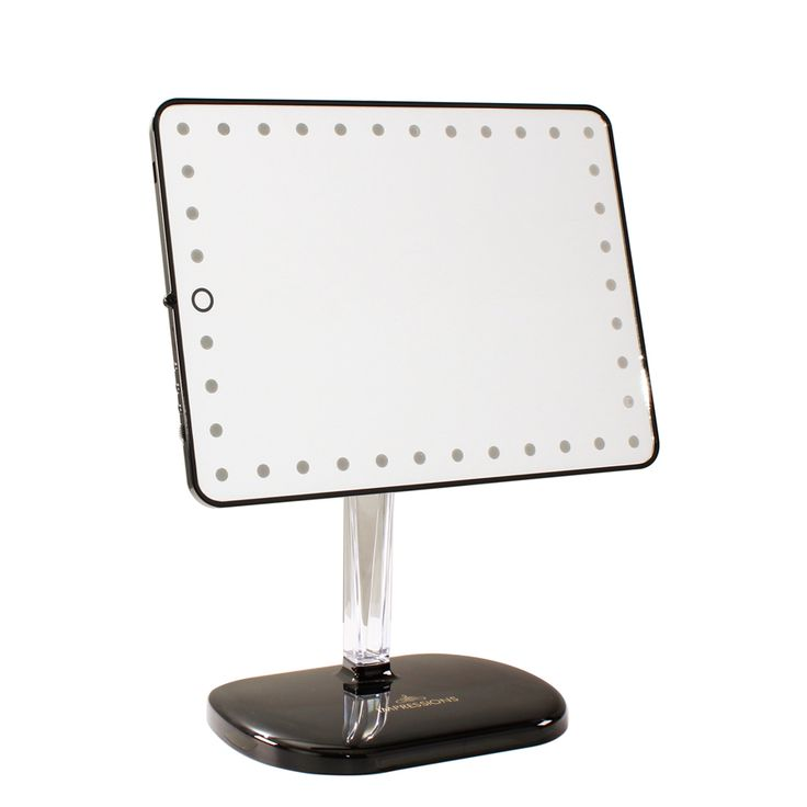 best vanity mirror for makeup. Touch Pro Black Makeup Mirror  129 with Bluetooth speaker and charging station 9 best vanity images on Pinterest vanities Led