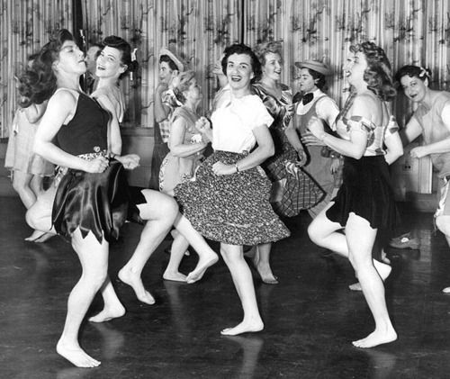 At the Sadie Hawkins dance, 1958... OMG!  Please don't show this to my kids!!