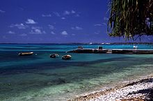 Small island of Tuvalu, beautiful !