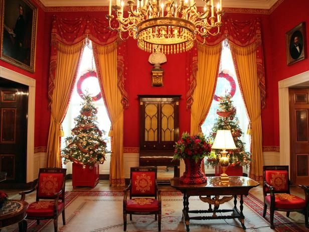 17 best ideas about white house christmas tree on for Artificial cranberries for decoration