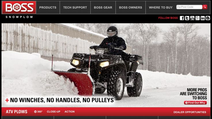 Want this!!!  https://www.bossplow.com/atv-plows