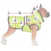 """""""Glow Dog"""" GUIDE DE TAILLE - Manteau pour chien - zooplus"""